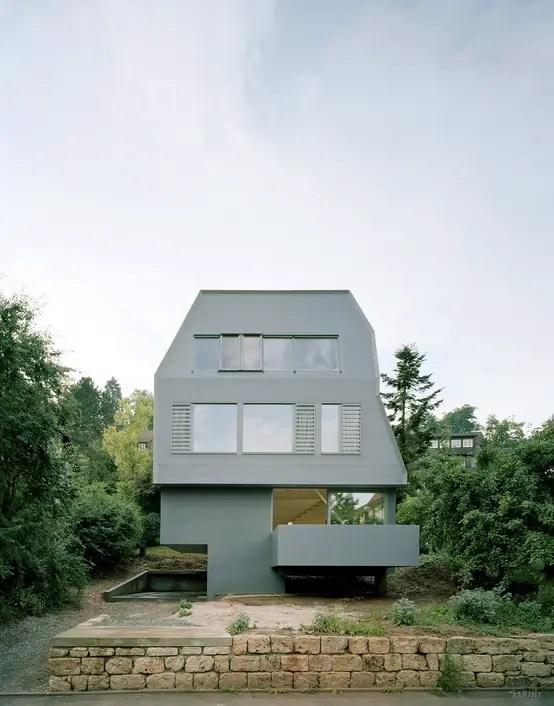 Nachhaltiges Holzhaus Für Eine Große Familie In Tübingen