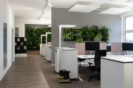 Open Space Büro Mit Wohlfühlambiente