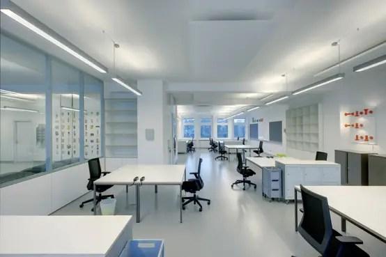 Moderner Workspace Mit Geschichte