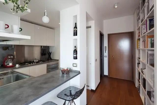 La sorprendente ristrutturazione di un piccolo appartamento di soli 62 mq