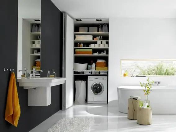 6 Geniale Ideen, Um Die Waschmaschine Im Bad Zu Verstecken