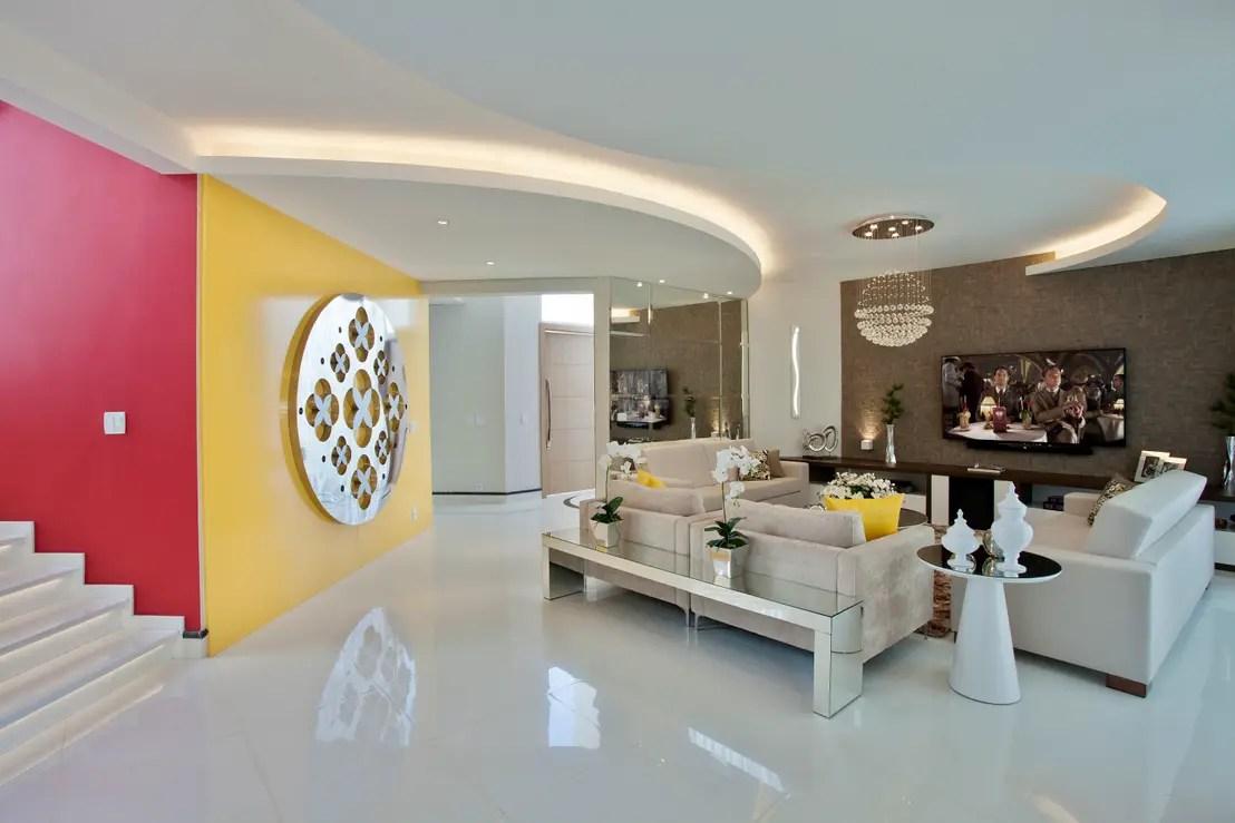 Casas modernas  8 magnficas ideas para decorar con yeso
