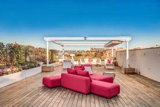 Progettazione E Arredamento Casa Con Terrazzo A Roma