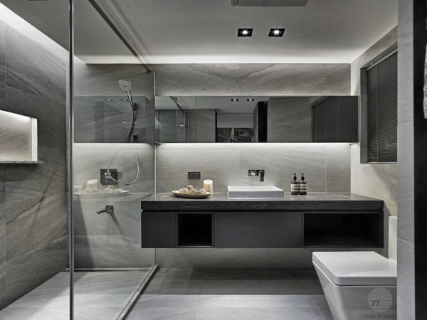 best contemporary bathroom designs 源自原本 essence: 浴室 by 源原設計 yydg interior design | homify