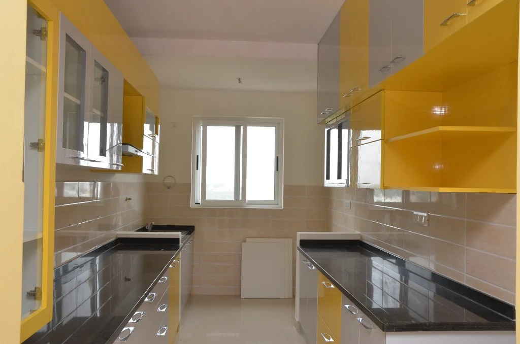 Parallel modular kitchen designs in bangalore kitchen by
