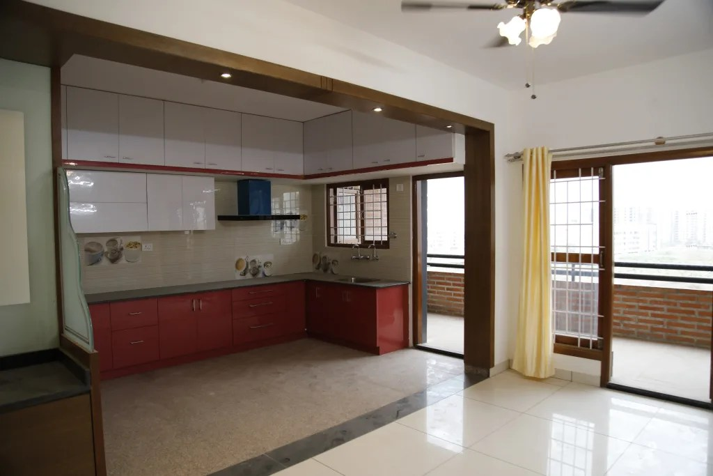 L Shaped Kitchen Design India Kitchen By Scale Inch Pvt