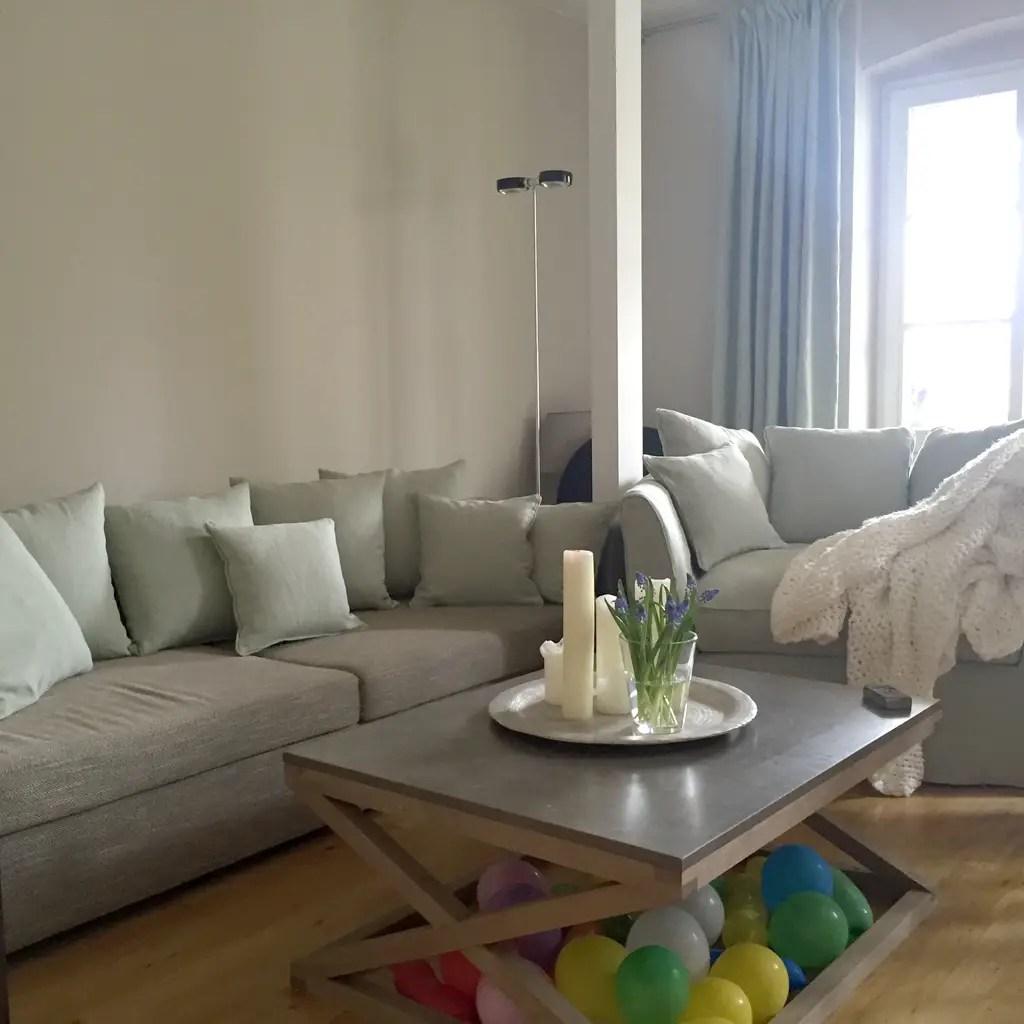 Sitzlandschaft Wohnzimmer Hauslimes Wohnung