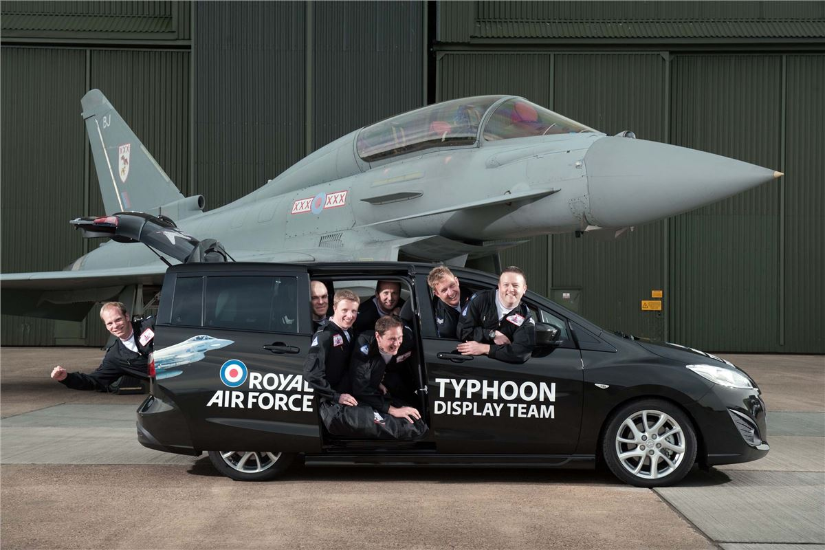 RAF Typhoon Display Team Dates For Your Diary  Motoring