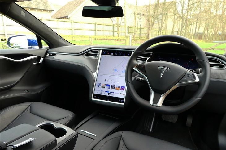 Tesla 3 Interior