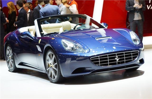 Geneva Motor Show 2012 Ferrari Reveals Improved