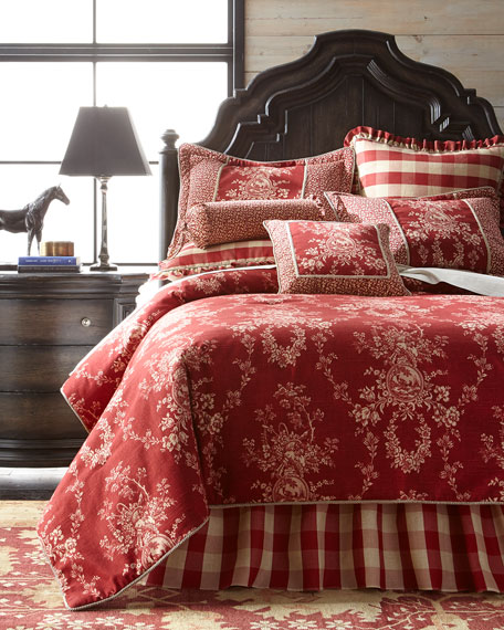 C Amp F Enterprises French Country Bedding Amp Houndstooth Quilt Set
