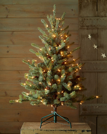 Park Hill Collections Blue Spruce 54 Artificial Christmas Tree