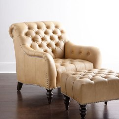 Tufted Chair And Ottoman Cover Hire Lowestoft Brady Leather Hch7qbs Mu Jpg