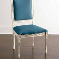 S Dining Chair Video Game Chairs Leather Acrylic At Neiman Marcus Horchow Ingram A1