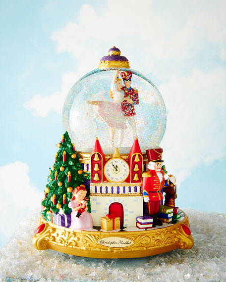 Christopher Radko The Nutcracker Suite Snowglobe