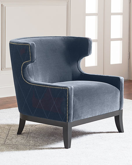 tufted accent chairs steelcase leap chair with headrest bernhardt lennox diamond