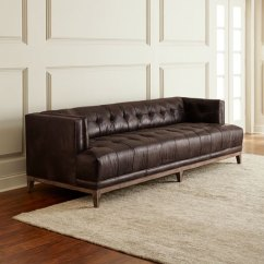 Tufted Leather Sofa Cheap Luxury Sofas For Sale Hooker Furniture Quinn 91 5