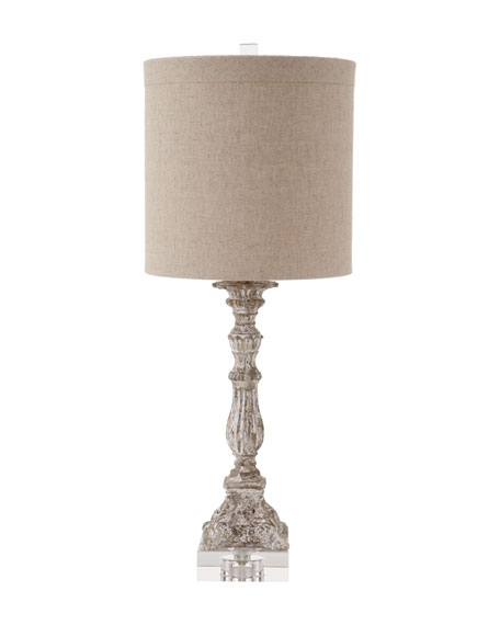 """""""Weathered"""" Table Lamp"""