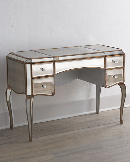 Claudia Mirrored VanityDesk