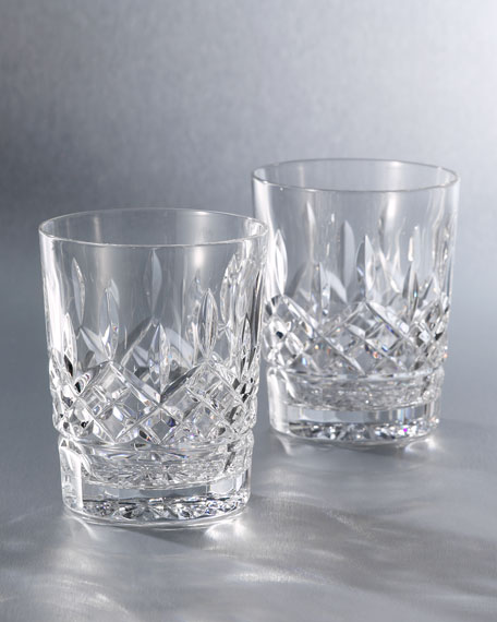 Waterford Crystal Lismore Crystal Double OldFashioned