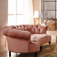 Love Sofa For Sale Springfield Mo Old Hickory Tannery Brussel Blush Tufted