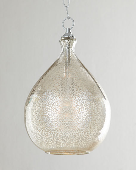 MercuryGlass 1Light Pendant