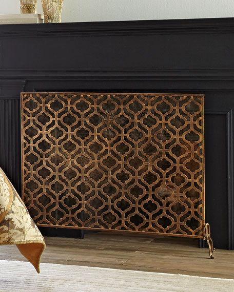 Lexington SinglePanel Fireplace Screen