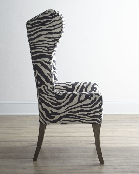 Zebra Print Chairs