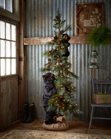 Ditz Designs By The Hen House High Mountain Bear Play Tree