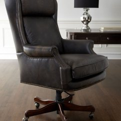 Leather Desk Chairs White Club Chair Hooker Furniture Mason