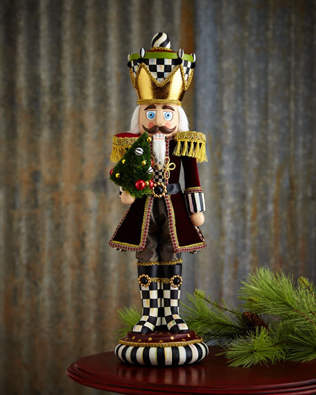 MacKenzie Childs Trim The Tree Nutcracker Figure