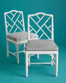 Jonathan Adler Each Chippendale Side Chair
