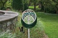 Free Standing Garden Hose Holder Stand Decorative Hanger