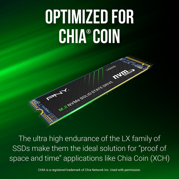 opt pny launches ssds built for chia cryptocurrency mining