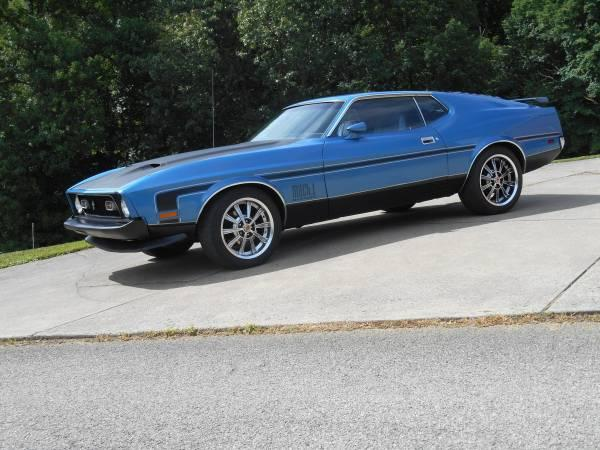 1965 ford mustang a code coupe with low mileage. 1973 Ford Mustang 2 Door Fastback All Steel Fastback Mach 1 Original Restored V8 For Sale Hotrodhotline