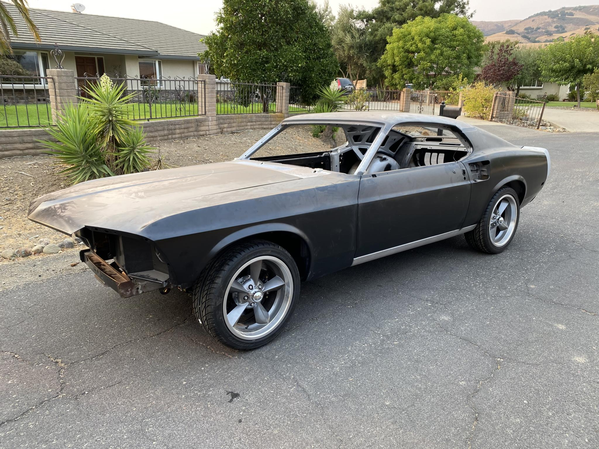 One of the most instantly recognizable movie cars of all time has been painstakingly restored and is going under the hammer one o. 1969 Ford Mustang 2 Door Fastback For Sale Hotrodhotline