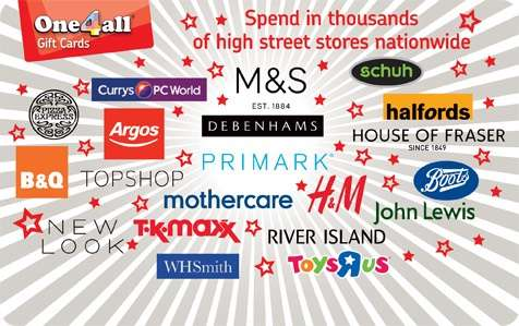 65 Off One4all Gift Cards With Free Standard Delivery