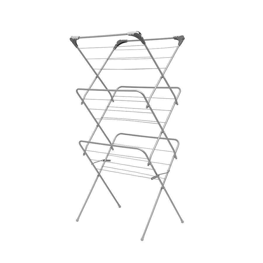 Addis 3 Tier Airer with Hooks £9.89(Free C&C) w/code