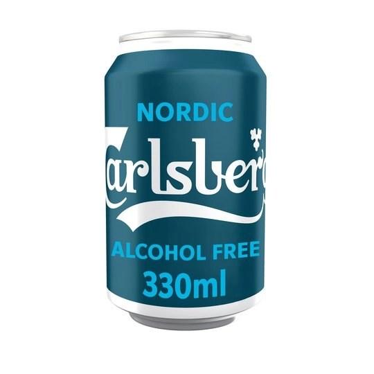 Carlsberg alcohol free nordic pilsner 330ml can 29p @ home bargains prenton / wirral - hotukdeals
