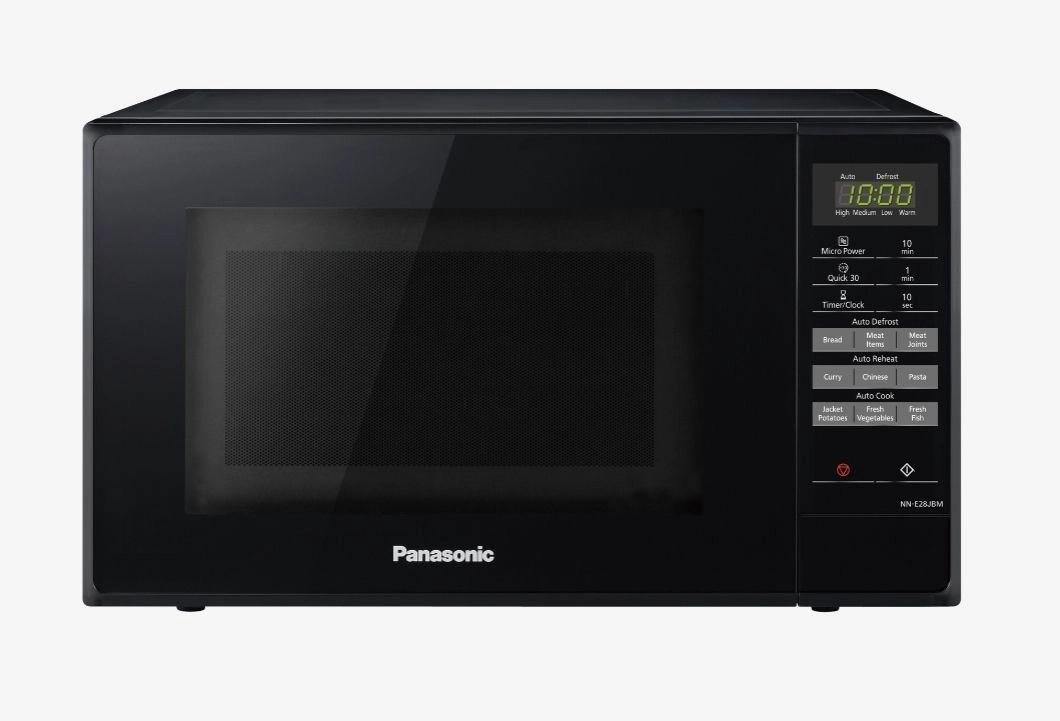 panasonic solo microwave nn e28jbmbpq