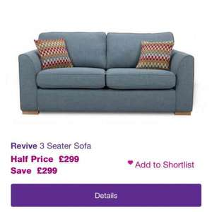 dfs sofas that come apart compact fabric double sofa bed revive 3 seater 299 hotukdeals