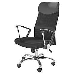 desk chair tesco sack back cosmos office black 34 50 direct free c discount offer