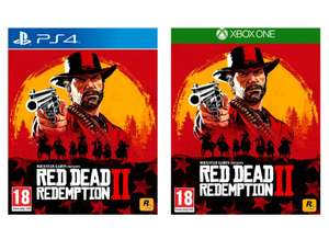 Red Dead Redemption 2 (PS4 / Xbox One) for £ 35.99 delivered @ Currys (free C & C)