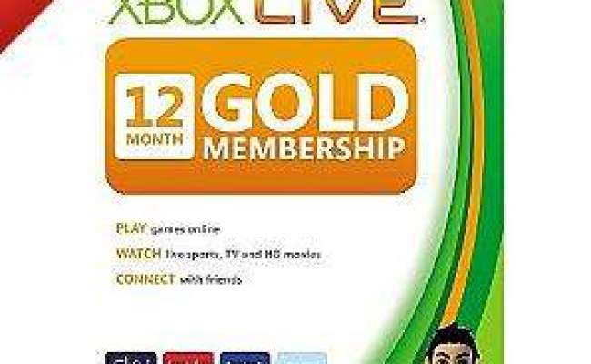 Xbox Live Gold 12 Month Subscription Card 29 97 At Asda