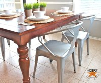 New chairs for an Industrial Farmhouse Style