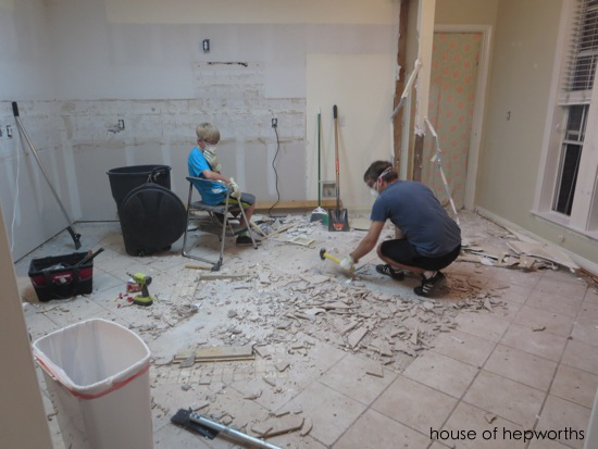 Image Result For How To Remove Ceramic Tile Adhesive From Concrete Floor