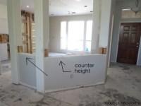 Weve got pocket doors, counter-height walls, and under ...