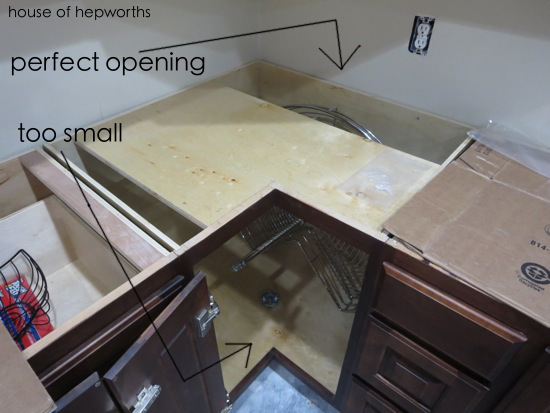 How To Install A Lazy Susan Corner Cabinet