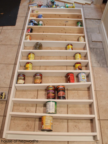 Wall Mounted Canned Food Storage : mounted, canned, storage, Canned, Goods, Storage, House, Hepworths