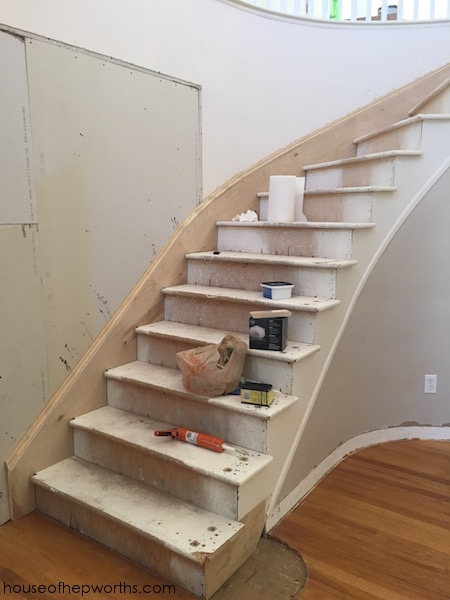 An Amazing Staircase Makeover From Carpet To Wood House Of | Redoing Carpeted Stairs To Wood | Hardwood Floors | Stair Tread | Stair Risers | Stair Case | Staircase Remodel